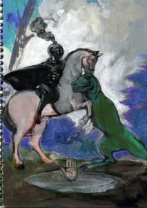 San Jorge y el lagarto